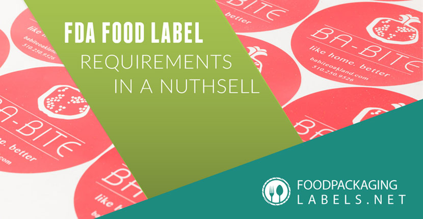 Food Labeling Requirements Ebook