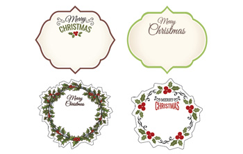 christmas labels example