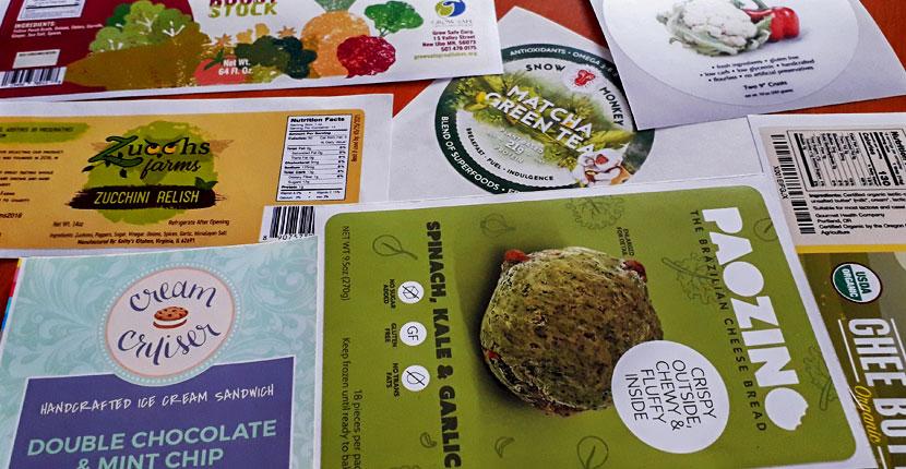 Food Packaging Label Adhesives