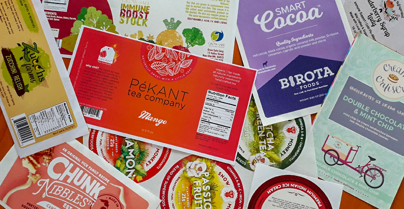 Food Packaging Labels Overview