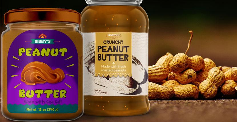 Peanut Butter Labels
