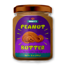 Peanut Butter Labels