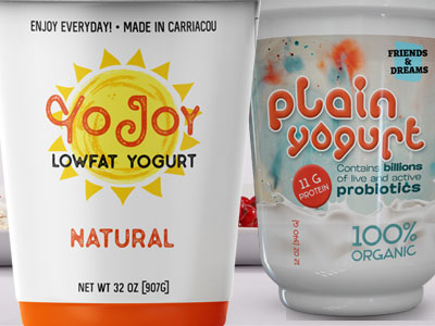Yogurt Labels